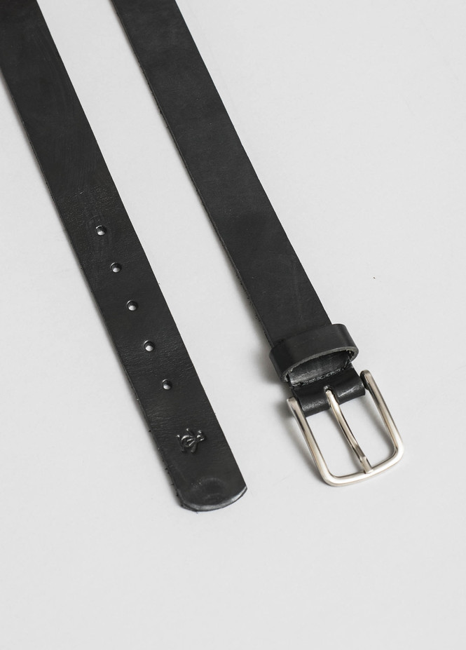 LEATHER SOLID BELT