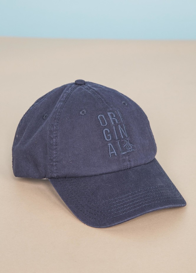 STACKED LOGO BSEBALL CAP
