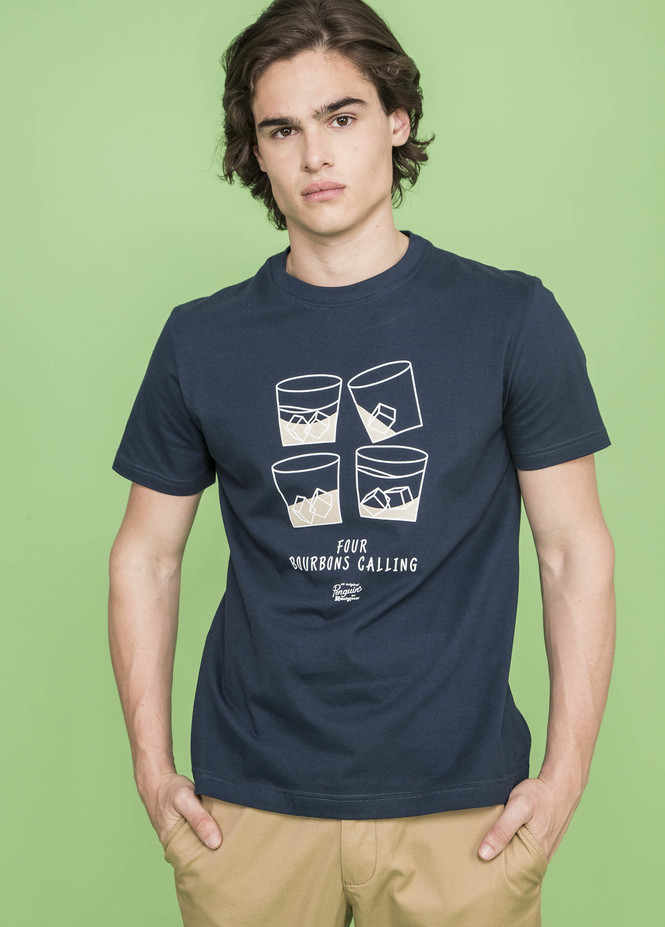 SS FOUR BOURBONS TEE