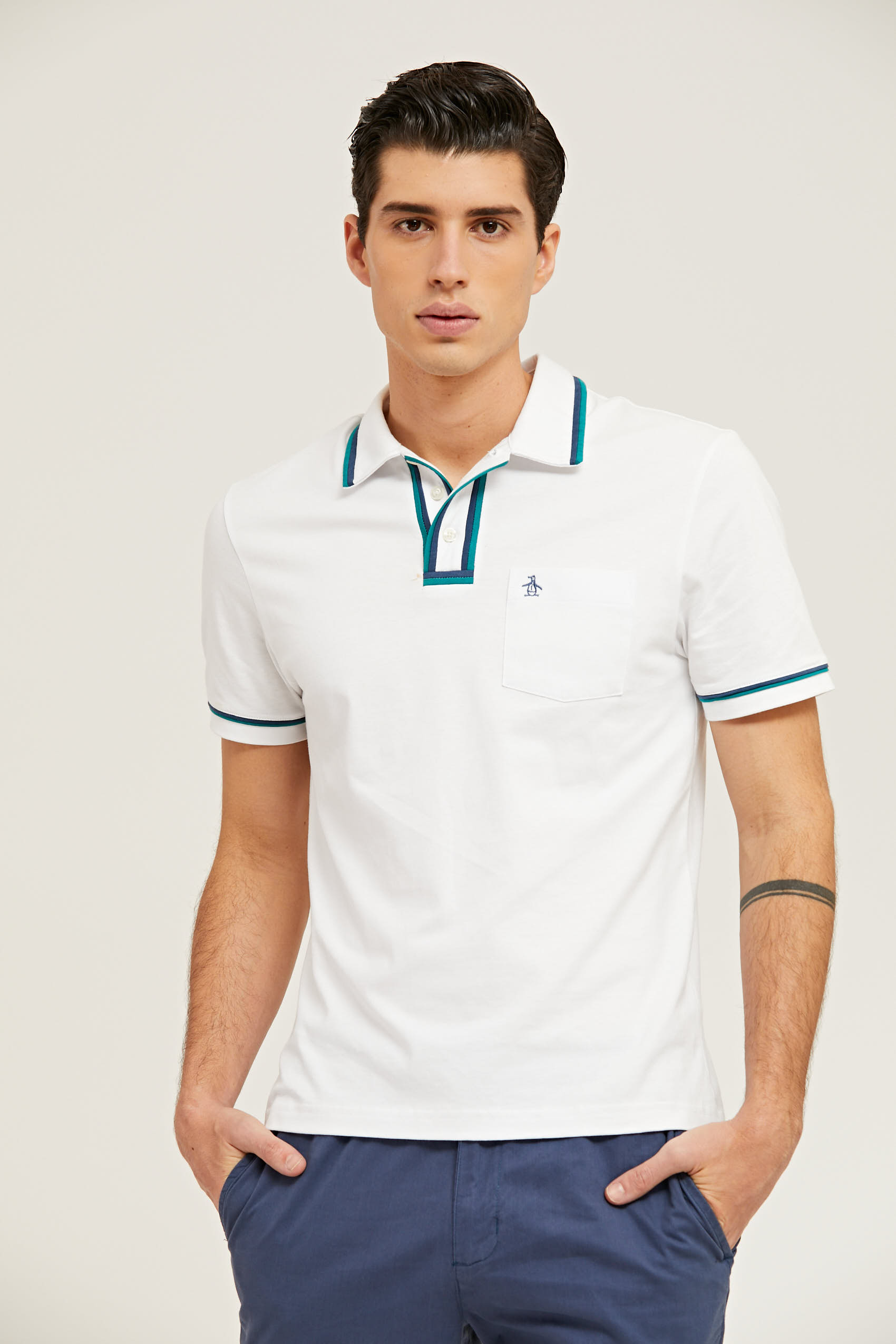 THE EARL 3D JERSEY POLO